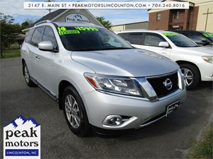 Picture of a 2014 Nissan Pathfinder SL 4WD