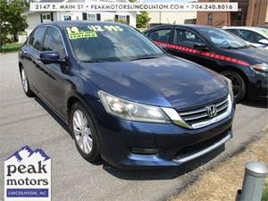 2014 Honda Accord EX-L Sedan  for sale by dealer