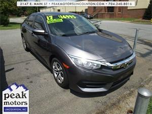 2017 Honda Civic LX Sedan for sale by dealer