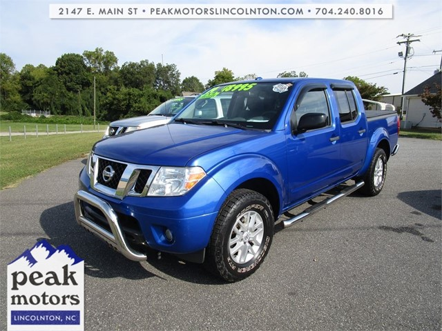 Nissan Frontier SV Crew Cab 4WD in Lincolnton