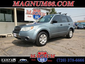 Picture of a 2010 SUBARU FORESTER 2.5X