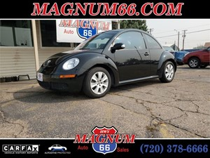 Picture of a 2008 VOLKSWAGEN NEW BEETLE S