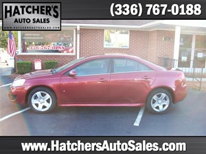 2010 Pontiac G6 Base for sale by dealer