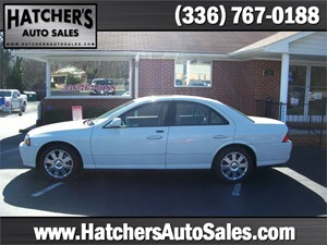 2005 Lincoln LS V8 Ultimate for sale by dealer