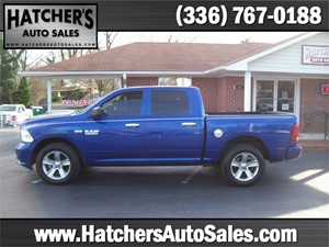 2015 RAM 1500 Tradesman Crew Cab SWB 4WD for sale by dealer