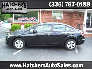 2013 Honda Civic LX Sedan 5-Speed AT for sale by dealer