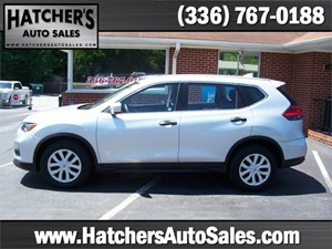 2017 Nissan Rogue S 2WD for sale by dealer