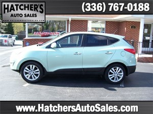 2011 Hyundai Tucson Limited 2WD for sale by dealer