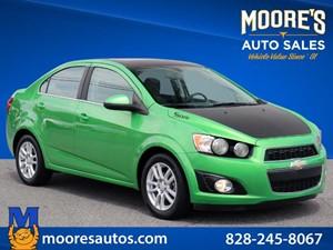 2014 Chevrolet Sonic LT Auto for sale by dealer