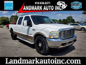 2004 FORD F250 SUPER DUTY KING RANCH CREW CAB SB 2WD Smithfield NC