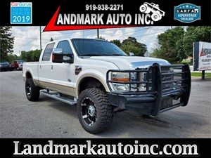 2010 FORD F250 SUPER DUTY KING RANCH CREW CAB SB 4WD Smithfield NC