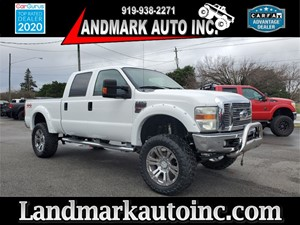 2008 FORD F250 SUPER DUTY LARIAT CREW CAB SB SRW 4WD for sale by dealer