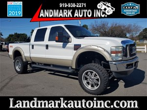 2009 FORD F250 SUPER DUTY LARIAT CREW CAB SB SRW 4WD for sale by dealer