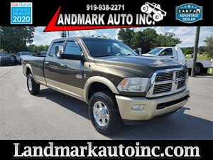 2011 DODGE RAM 3500 long horn Smithfield NC