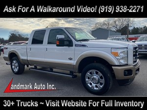 2012 FORD F250 King Ranch Crew Cab 4WD Smithfield NC