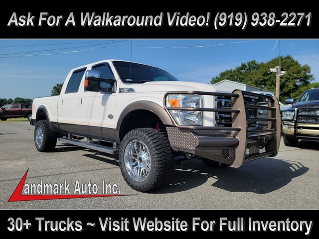 FORD F250 KING RANCH CREW CAB 4WD in Smithfield