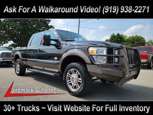 2015 FORD F250 KING RANCH CREW CAB 4WD Smithfield NC