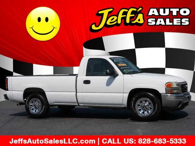 2007 Gmc Sierra For Sale >> 2007 Gmc Sierra 1500 Work Truck In Asheville