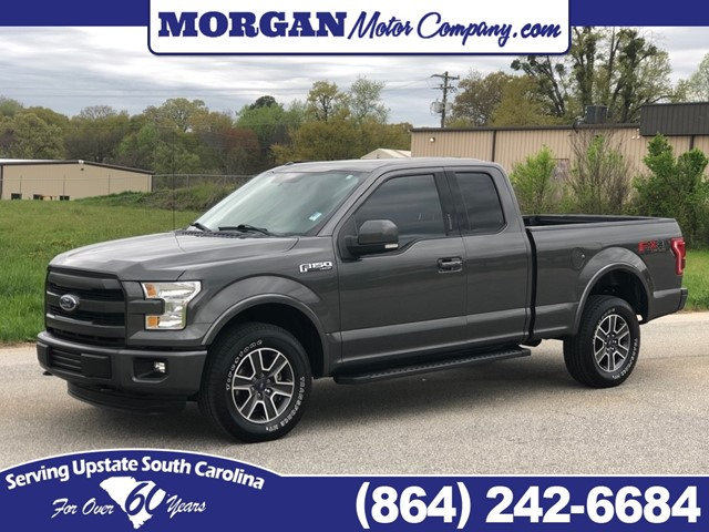 Ford F-150 Lariat SuperCab 6.5-ft. Bed 4WD in Greenville