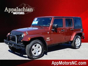 Jeep Wrangler Unlimited Sahara for sale