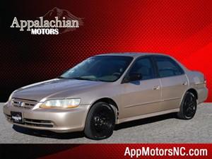 2002 Honda Accord EX w/Leather
