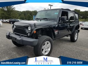 Picture of a 2015 Jeep Wrangler Unlimited Sport