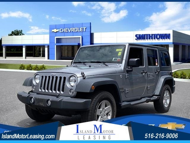 Jeep Wrangler Unlimited Sport in Hicksville