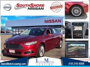 Picture of a 2016 Ford Fusion Titanium