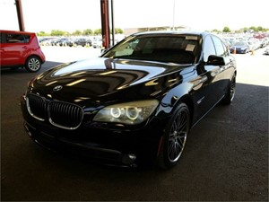 2009 BMW 750I for sale by dealer