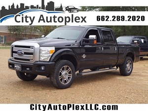 Picture of a 2014 Ford F-250 Super Duty Platinum