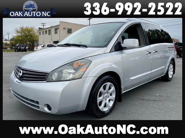 NISSAN QUEST S-2 OWNERS 49 SERVICE RECORDS in Kernersville