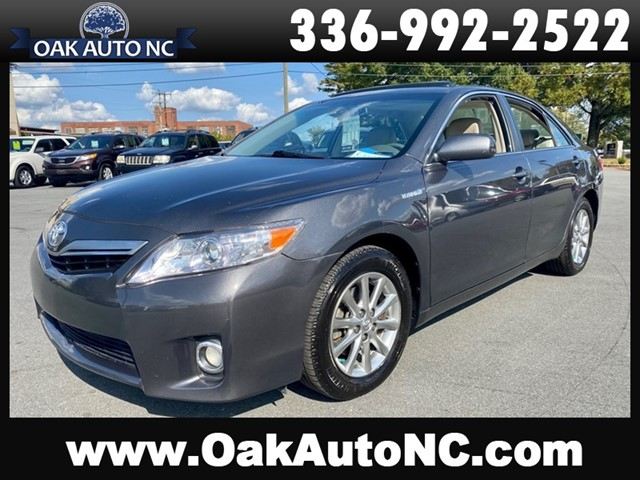 TOYOTA CAMRY HYBRID-56 SERVICE RECORDS in Kernersville
