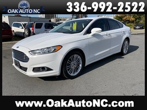 Picture of a 2014 FORD FUSION SE NO ACCIDENTS 31 CARFAX RECORDS