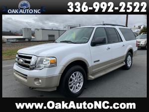 2007 FORD EXPEDITION EL EDDIE BAUER NO ACCIDENTS for sale by dealer