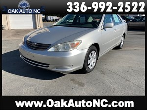 Picture of a 2004 TOYOTA CAMRY LE-NO ACCIDENTS