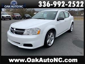 Picture of a 2013 DODGE AVENGER SE-SOUTHERN OWNED