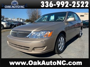 Picture of a 2002 TOYOTA AVALON XL 1 OWNER 60 SERVICE RECORDS