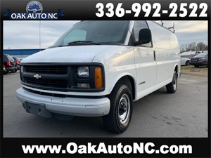 2002 CHEVROLET EXPRESS G2500 2 OWNERS for sale by dealer