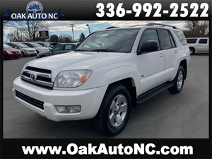 2005 TOYOTA 4RUNNER SR5-GOOD SERVICE RECORDS for sale by dealer