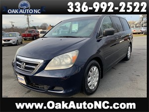 2006 HONDA ODYSSEY LX NO ACCIDENTS for sale by dealer