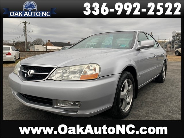 ACURA 3.2TL 2 OWNERS in Kernersville