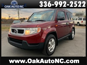 2010 HONDA ELEMENT LX NO ACCIDENTS for sale by dealer