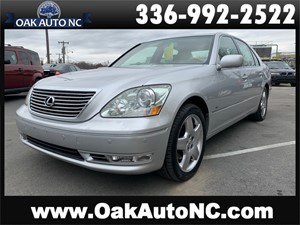 Picture of a 2005 LEXUS LS 430 NO ACCIDENTS