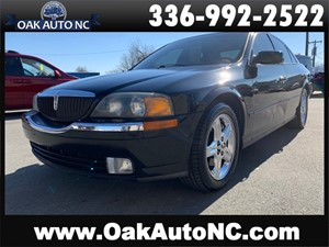 Picture of a 2002 LINCOLN LS 1 OWNER NC OWNED