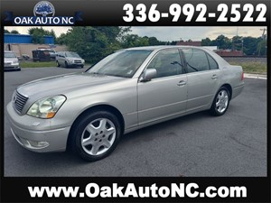 Picture of a 2001 LEXUS LS 430 CAROLINA OWNED