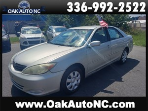2003 TOYOTA CAMRY LE NC OWNED for sale by dealer
