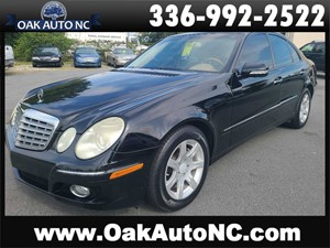 2009 MERCEDES-BENZ E-CLASS E320 BLUTEC DIESEL NC OWNED for sale by dealer