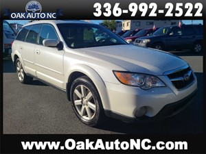2008 SUBARU OUTBACK 2.5I LIMITED 2 OWNERS for sale by dealer