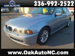 2003 BMW 525 I AUTO LEATHER! NICE! for sale by dealer