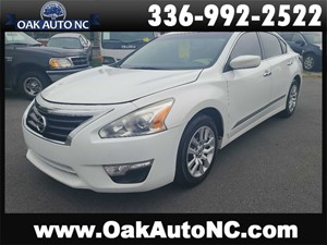 2015 NISSAN ALTIMA 2.5 NC OWNED for sale by dealer